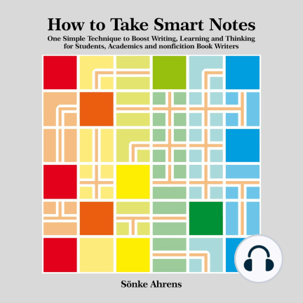 How-To-Take-Smart-Notes-Audiobook-Production